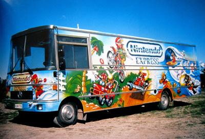 Nintendo bussi