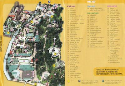 Lisebergin kartta