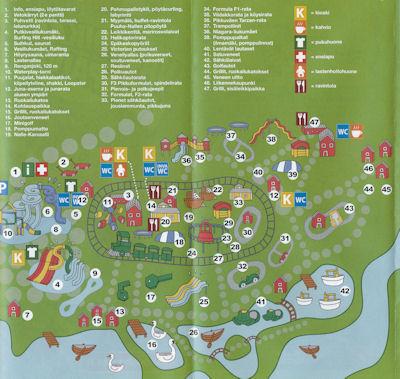 Puuhamaan kartta