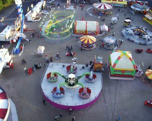 A view from the Ferris Wheel