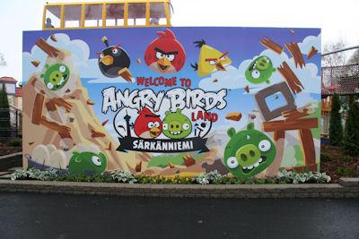 Tervetuloa Angry Birds Landiin