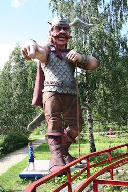 Hurjan viikingin tervetulotoivotus