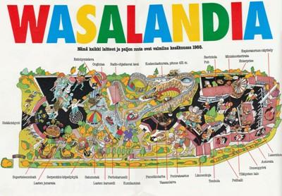 Avajaisvuoden kartta